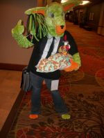 Animefest '12 - Green Dingo by TexConChaser