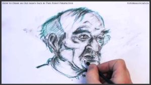 Draw An Old Man's Face In Two Point Perspective 34 by drawingcourse
