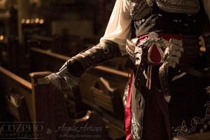 Venetian Assassin Mask I (Featuring Cozpho) by Angelic-Artisan