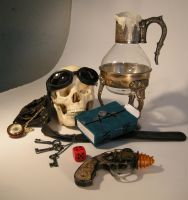 Steampunk StillLife 3 by kerisugi