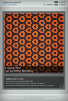 PatternTemplate01 Full by PatternStock