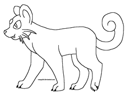 Free Persian Lineart by VampyKit