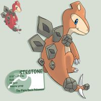 Stegstone, paper,scissors by G-FauxPokemon