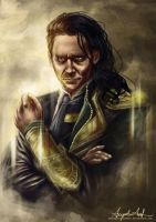 There's no Loki without Tom by AngieParadiseeker