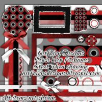 Polka Dots R Hot Tagger Kit by netfairy23