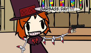 GARBAGE DAY by MikiBandy