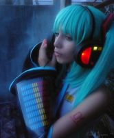 Miku- light up headphone by aiko-yume