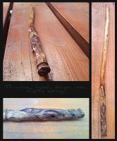 Laurel Wand by akaforbidden