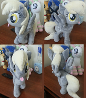 15 inch Derpy Hooves Plush for resale by Biscuit-senpai