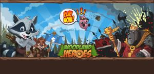Woodland Heroes Game Art by holaso