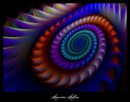 Sunset Spirals II by AmorinaAshton