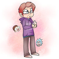 Justin Roiland by MimiMarieT
