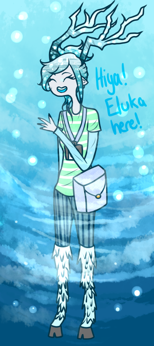 Eluka the Ice Faun (- Open for Asks -)