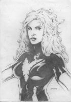 "Jean ""Phoenix"" Grey sketch by Drumond"