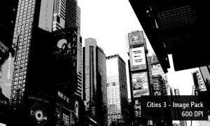 Cities 2 Image pack - 600 DPI by screentones