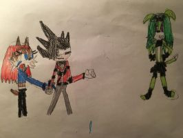 Sonic x Sally - A dark fight with Envy. by Tie-Rex1000000
