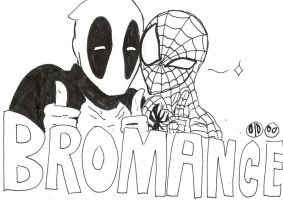 BROMANCE SPIDEYPOOL by That-Love-Voodoo
