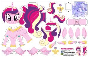 Princess Cadance (Joinys 011) by ELJOEYDESIGNS