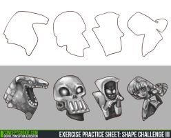 Concept Cookie Shape Challenge by Maripon