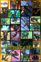 Umbreon by PrincessEmerald7
