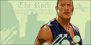 The Rock by TheBigRedMonster