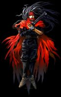 Vincent Valentine by blotchy-the-squid