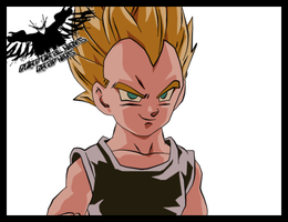 Vegeta Jr by xFranticx