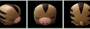 Swinub Cube Plush by caffwin