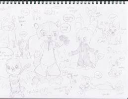 Doodles by derpato