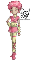 Aelita Translation Pose: Season 1-3 by FireLordWael