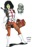 Star Wars Commission: Mirialan Medic by lilith-darkmoon