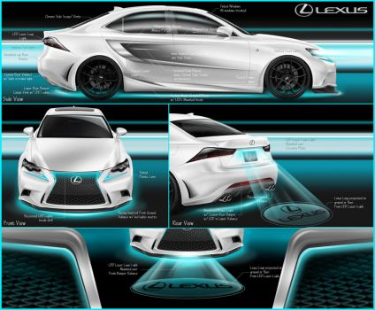 Lexus IS Med Mods Submission by reyjdesigns
