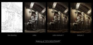 Making of 6TH NIGHTMARE by Number-toi