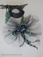 Finished Fascinator by Xenaris