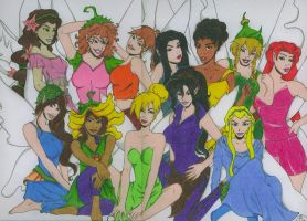 Disney Fairies - All Grown Up by Slayer730