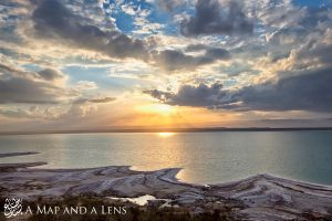 Dead Sea Sunset by Mgsblade
