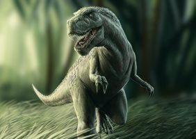 ITS A DINOSAUR by Fatmarco