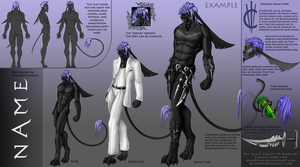 INTRODUCING The Deluxe Ref Sheet by MuddyIXI