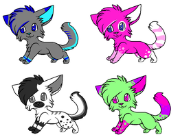 Adoptable batch 4 :OPEN: by FireBladeFlame
