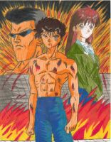 Yu Yu Hakusho Dark Tournament by mmcfacialhair