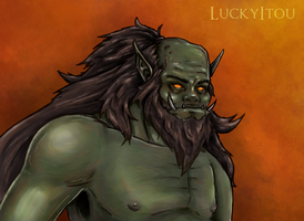 A Common Orc by TheUnconfidentArtist