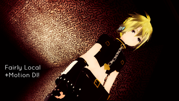 (MMD) Fairly Local + Motion Dl by TheOneNamedZoe