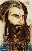 Thorin sketch by IslaDelCoco