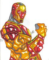i am IRONMAN by PDInk