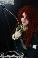 Franchy as Merida (Brave) by djcerealkillerjr