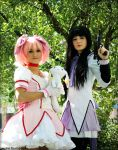 Puella Magi Madoka Magica- Lesser of Two Evils by Whimsical-Angel