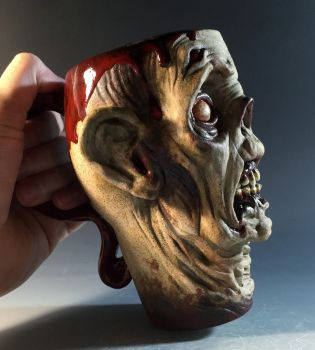Coffee of the Undead Mug- FOR SALE by thebigduluth