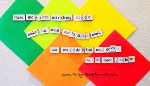 The Daily Magnet #277 - BOP by FridgePoetProject