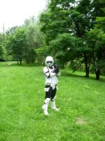 Scout trooper costume by bloodredsandman