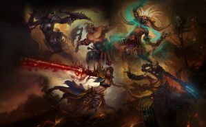 Diablo 3 Wallpaper by Arixev
